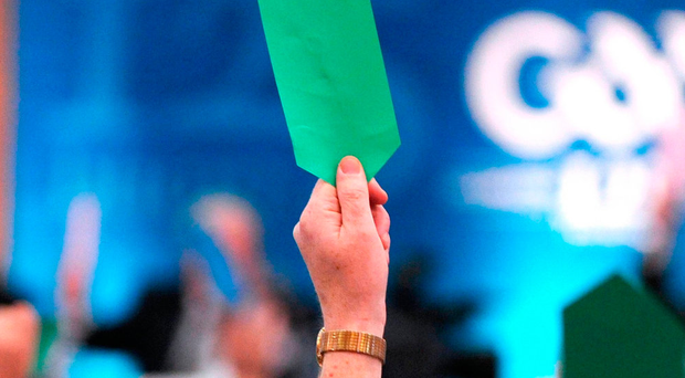 The CPA are looking for a return to the 'show of hands' voting system that ensures more traceability. Photo: Ray McManus/Sportsfile
