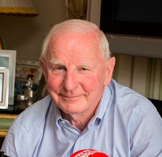 Former OCI chief Pat Hickey. Photo: Mark Condren