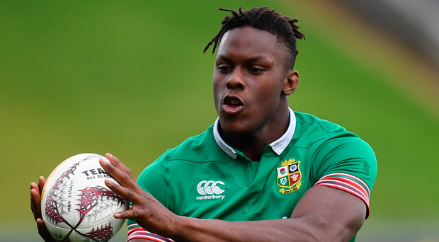 Saracens star Maro Itoje is a doubt for the start of England's Six Nations campaign