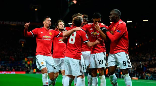 Man united sweep aside cska moscow to seal top spot in group a man united 2 cska moscow 1 stopboris Gallery