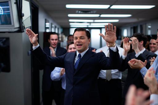 Streets ahead: Jordan Belfort knew how to deliver in The Wolf Of Wall Street