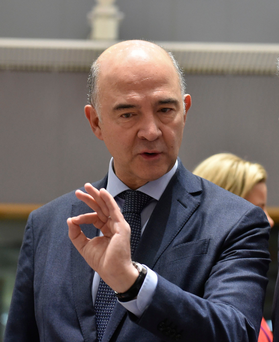 EU Economic and Financial Affairs Commissioner Pierre Moscovici