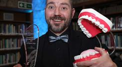 Darach Judge was named Sensodyne Sensitive Dentist of the Year