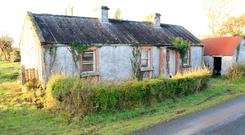 Killasanowel Cottage lies on 1.7 acres in rolling farmland 5km outside Carrick-On-Shannon, Co Leitrim.