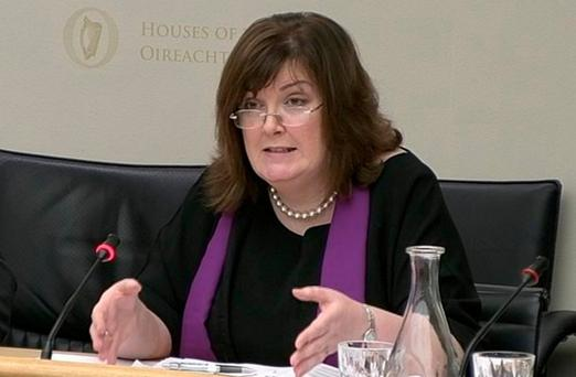Oonagh McPhillips made the remarks at the Oireachtas Justice committee