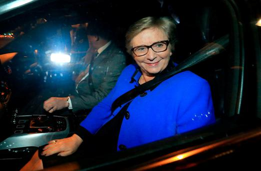 Ms Fitzgerald insists she will be vindicated at the tribunal. Photo: Gerry Mooney