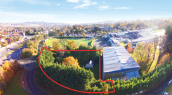 Guiding at €2.9m, this 0.62 acre site in Foxrock has full planning permission for 20 apartments