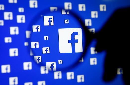 Facebook said that it would be impossible to operate as an online platform if it was to monitor all content posted on its site. Stock photo: REUTERS