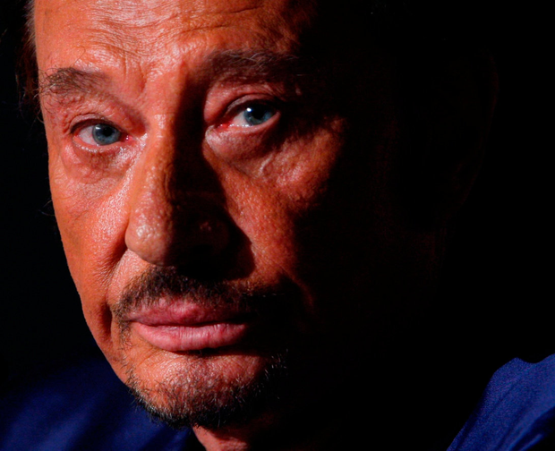 Johnny Hallyday, France's biggest rock star for more than half a century, died yesterday. Photo: Reuters