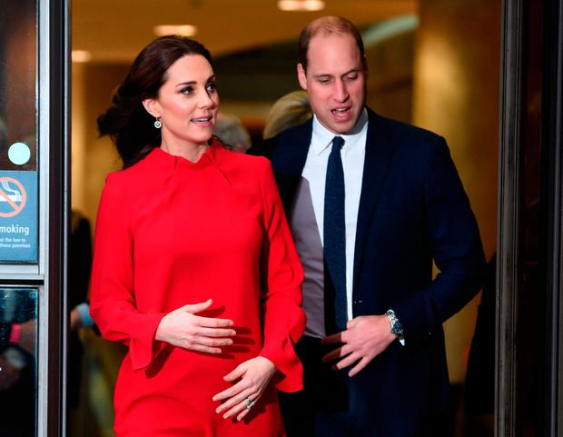 Prince William, Duke of Cambridge and Catherine, Duchess of Cambridge attend the Children's Global Media Summit at the Manchester Central Convention on December 6, 2017 in Manchester, United Kingdom. (Photo by Eddie Mulholland - WPA Pool/Getty Images)