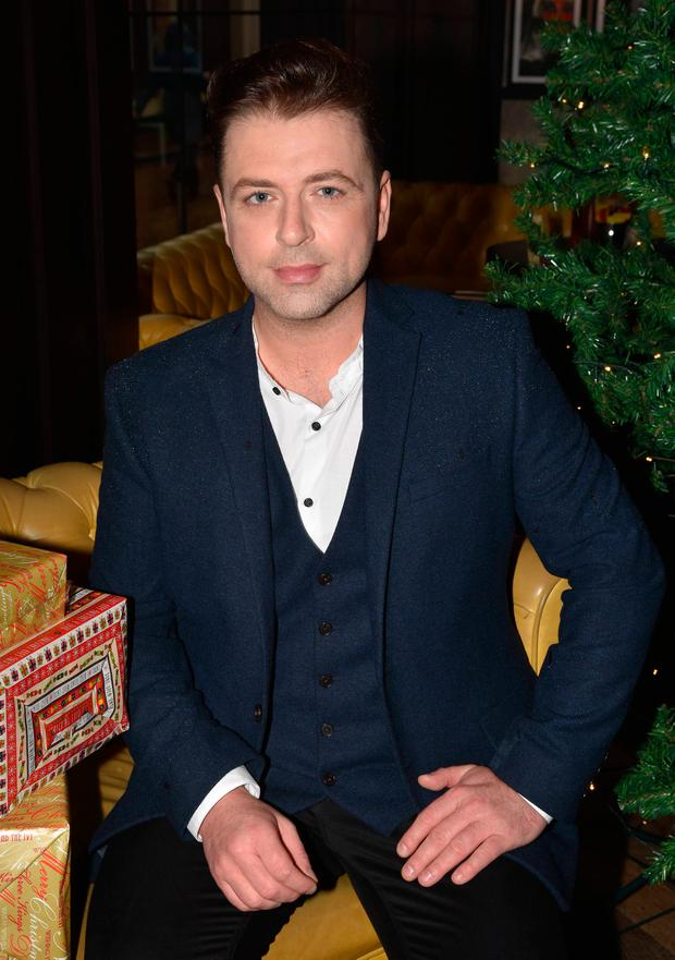 Former Westlife singer Mark Feehily launches his festive album Christmas
