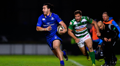 2 December 2017; James Lowe of Leinster during the Guinness PRO14 Round 10 match between Benetton and Leinster at the Stadio Comunale di Monigo in Treviso, Italy. Photo by Ramsey Cardy/Sportsfile