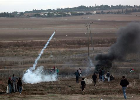 Israeli Army Strikes Targets In Gaza In Response To Rocket Fire