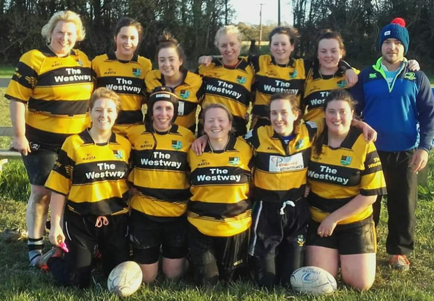 The North Meath women's team pictured before a recent win over Dundalk