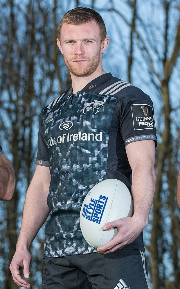 Keith Earls hopes to be back for the St Stephen's Day game against Leinster. Photo: INPHO