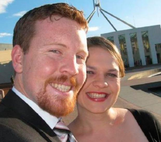 Nick and Sarah Jensen said they would divorce if same-sex marriage was legalised