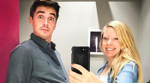Donal Skehan and his wife Sofie. Picture: Instagram