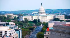 Everyone who casts a vote will be entered into a draw for a dream trip for two to Washington DC (stock picture)