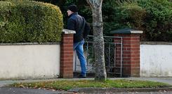 Michael Murray returns to the rented house in south Dublin
