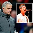 Jose Mourinho and Noel Gallagher