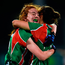 Carnacon's Emma Cosgrave and Martha Carter celebrate last Sunday. Photo: Sportsfile