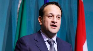 Brexit backlash: In the Dail last week, Taoiseach Leo Varadkar gave the impression of a man intent on continuing to stoke nationalist fervour for his own political advantage. Photo: RollingNews.ie