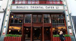 Bewley's on Grafton Street, a Dublin landmark