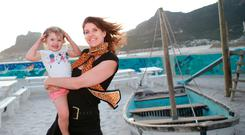HOME FROM HOME: Barbara McCarthy and daughter Romi have found a life worth living by moving to South Africa