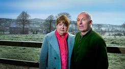 TERRORISED: Gerry and Ann Garvey from Pallasgreen, Co Limerick were terrorised in their home