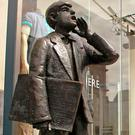 ALL CHANGE: The Echo Boy statue in Cork city, home of the 'Irish Examiner'