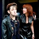 STANDING BY HER MAN: Shane MacGowan and Victoria Mary Clarke. Photo: Mark Stedman