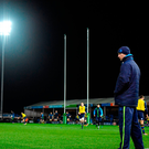 Leinster head coach Leo Cullen prior to the European Rugby Champions Cup Pool 3 Round 3 match between Exeter Chiefs and Leinster at Sandy Park in Exeter, England. Photo by Brendan Moran/Sportsfile