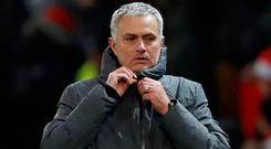 Manchester United manager Jose Mourinho was reluctant to give Manchester City credit after their Old Trafford victory Action Images via Reuters/Carl Recine
