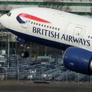 A British Airways plane (PA)