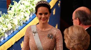 Princess Sofia of Sweden attends the Nobel Prize Awards Ceremony at Concert Hall on December 10, 2017 in Stockholm, Sweden. (Photo by Pascal Le Segretain/Getty Images)
