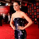 Daisy Ridley attends the premiere of Disney Pictures and Lucasfilm's