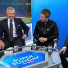 Noel Gallagher was invited into the Sky Sports studio for their Manchester derby coverage. Sky Sports
