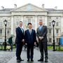 Pic shows ( l to r ) Mr Martin D. Shanahan, the CEO of IDA Ireland, Guo Ping, Huawei Deputy Chairman & Rotating CEO and Dr Patrick Prendergast, Provost of Trinity College Dublin.