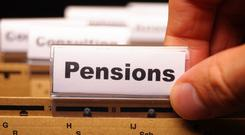 In the UK, where an auto-enrolment scheme exists, you must be over 22, not yet at state pension age, have a contract and earn more than £10,000 (€11,313). Stock image
