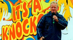 Keith Chegwin was known for several shows including 'It's a Knockout'. Photo credit: Michael Walter/PA Wire