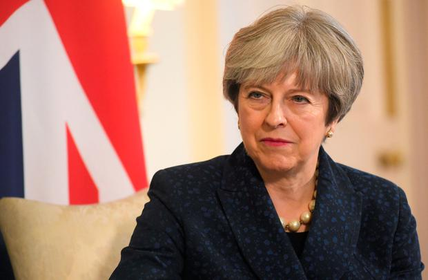 Britain's Prime Minister Theresa May. Photo: REUTERS/Toby Melville