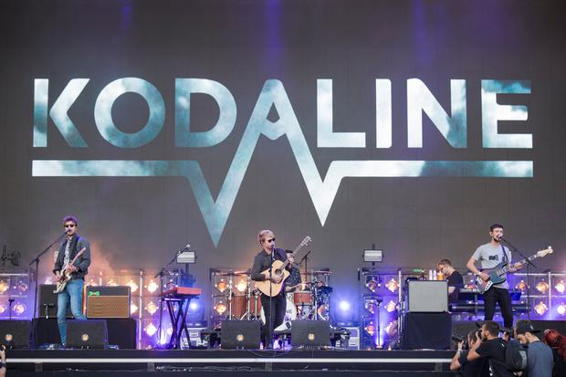 Stephen Garrigan of Kodaline performs on the NOS Alive stage during day 3 of NOS Alive on July 8, 2017 in Lisbon, Portugal. (Photo by Andrew Benge/WireImage)