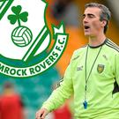 Jim McGuinness could be set to face Shamrock Rovers