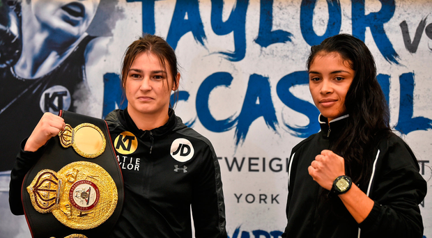 Katie Taylor overcomes scare to retain WBA lightweight title