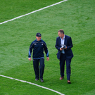 Dublin manager Jim Gavin with Dublin GAA Chief Executive John Costello