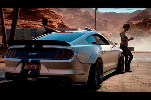 need for speed payback review going nowhere fast. Black Bedroom Furniture Sets. Home Design Ideas