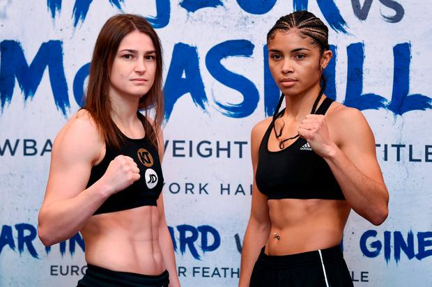 Katie Taylor dominates courageous Jessica McCaskill to retain her world title