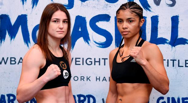 Katie Taylor successfully defends WBA title against Jessica McCaskill in London