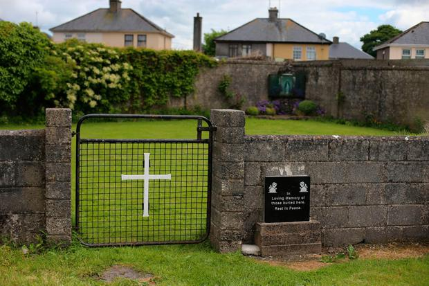 The site of the mass grave at Tuam, Co Galway