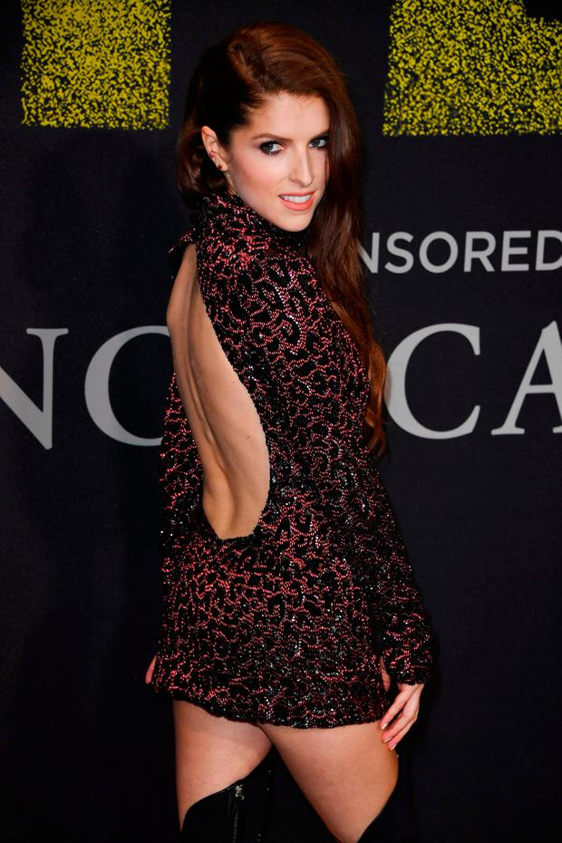 Actress Anna Kendrick arrives for the premiere of Universal Pictures'